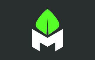 Méridionale Vert Meridionale Vert Embleme Fond Foncé